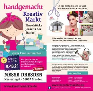 Plakat Kreativmarkt 2013