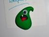 Monstermagnet grün