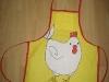 Hühnerschürze für die Kleinsten